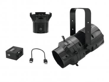 Eurolite Set LED PFE-50 + Linsentubus 36° + DMX-Interface