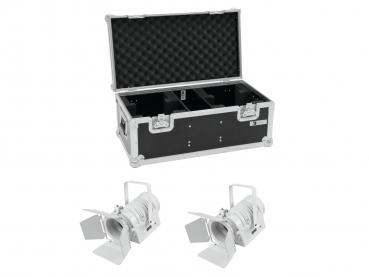 Eurolite Set 2x LED THA-40PC ws + Case
