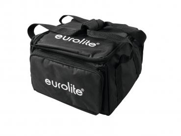 Eurolite Set 4x AKKU UP-4 QCL Spot WDMX + SB-4 Soft-Bag
