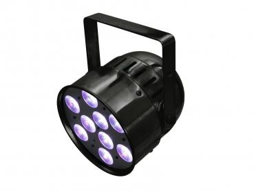 Eurolite Set 4x LED PAR-56 QCL Short sw + PRO Case