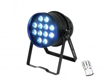 Eurolite Set 4x LED PAR-64 HCL 12x10W sw + Case