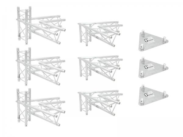 Alutruss Traversenset TRILOCK 6082 Werbetower Basis-Set