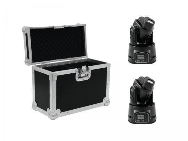 Eurolite  Set 2x LED TMH-6 + Case