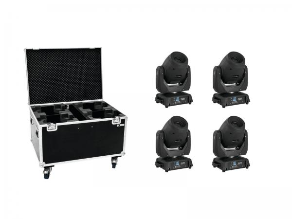 Eurolite Set 4x LED TMH-X12 + Case