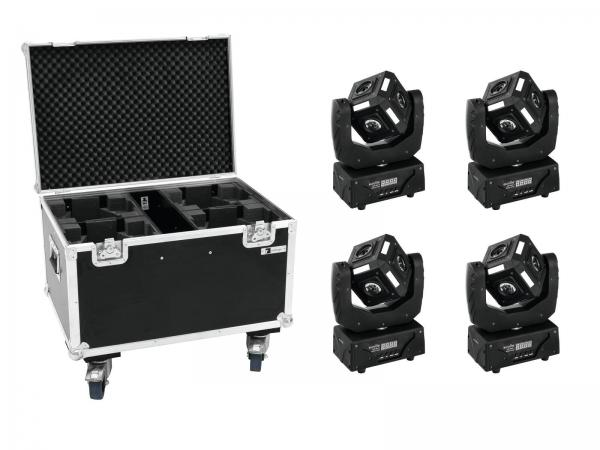 Eurolite Set 4x LED MFX-3 Action Cube + Case