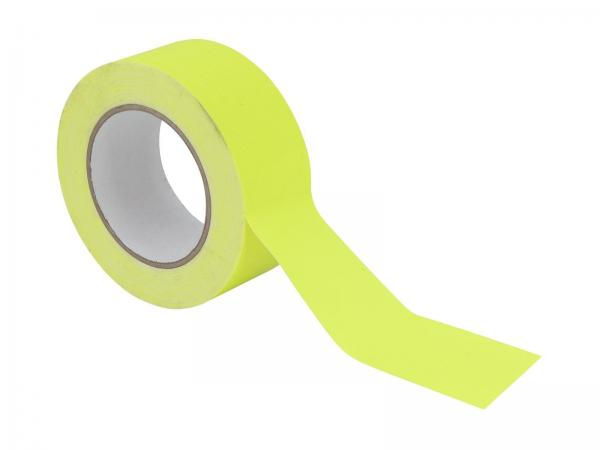 ACCESSORY Gaffa Tape 50mm x 25m neongelb UV-aktiv