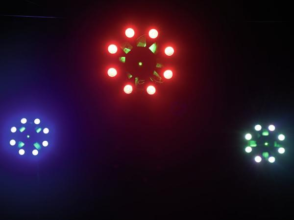 Eurolite LED FE-1750 Hybrid Laserflower