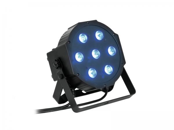 Eurolite Set 5x LED SLS-7 QCL + Case