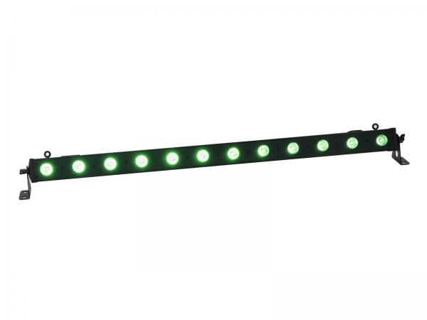 Eurolite Set 12x LED BAR-12 QCL RGBA Leiste + Case L