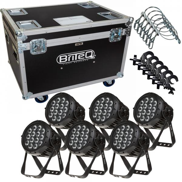 Briteq Stage Beamer FC - 6er SET